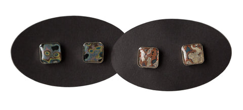 Rebel Nell Sterling Post Earrings, Well Done Goods