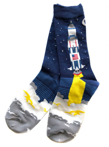 Saturn V Rocket Socks