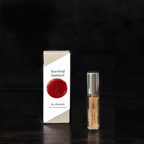 Sfumato Fragrances Survival Instinct. 8mL atomizer, Well Done Goods