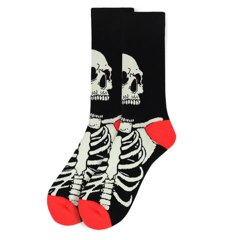 Skeleton Socks. Men's Fancy Socks, by Parquet
