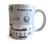 TB-303 Mug, Vintage Bass Synthesizer Coffee Cup. Well Done Goods by Cyberoptix