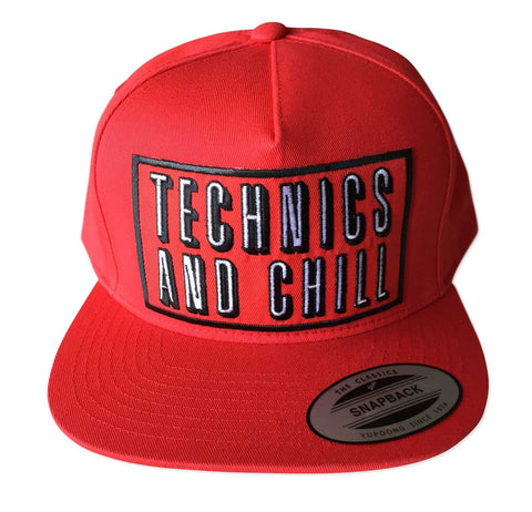 Technics and Chill Snapback Cap, Well Done Goods