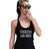 Technics and Chill Women's Black Tank Top, Techno Print, Well Done Goods