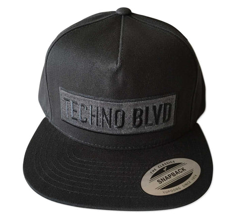 Techno Blvd Snapback Cap, Well Done Goods