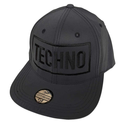 TECHNO Hat. Limited Edition 3d Embroidered Retroreflective Cap