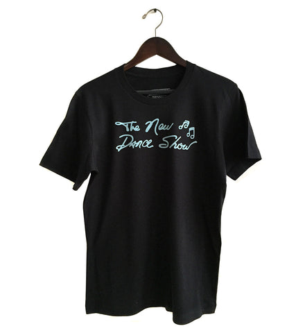 The New Dance Show T-shirt, Detroit WGPR TV 62. Sky blue on black. Well Done Goods