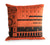 808 Drum Machine Throw Pillow, orange. Well Done Goods by Cyberoptix
