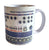 909 Printed Mug, Vintage Drum Machine Coffee Cup. Well Done Goods by Cyberoptix