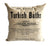 Turkish Baths 100% cotton silkscreen throw pillow, Well Done Goods