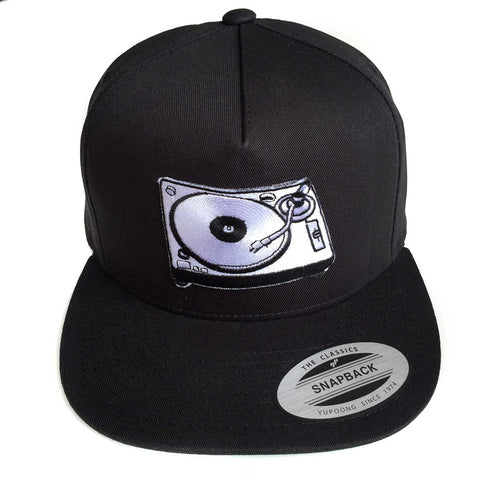 Turntable Snapback Cap, For Vinyl Lovers