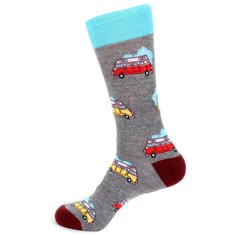 Volkswagen Bus Socks. Men's Fancy Socks, by Parquet
