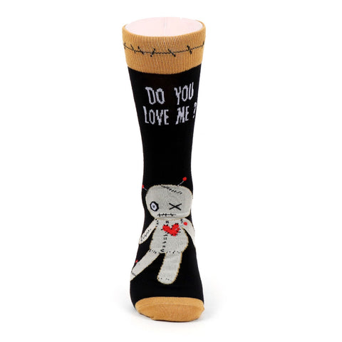 Voodoo Doll Socks. Men's Fancy Socks, by Parquet