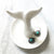 Porcelain Whale Tail Ring Dish, Jewelry Tray. Well Done Goods