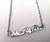 What Up Doe Script Necklace, Silver Detroit Michigan Theme Nameplate, Well Done Goods
