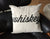 "Whiskey 18"" x 18"" Throw Pillow, Script Silkscreen Print. Well Done Goods by Cyberoptix"