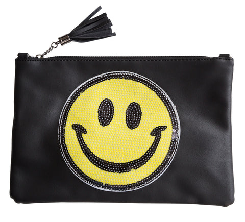 Smiley Face Clutch Bag, Well Done Goods