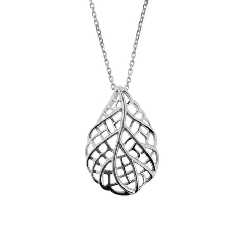 Leaf-like pendant