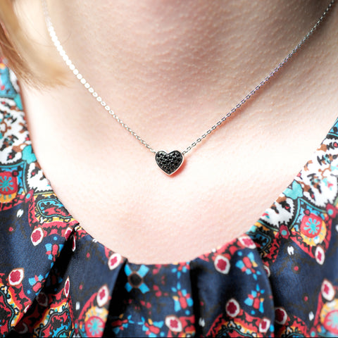 Charlie heart necklace