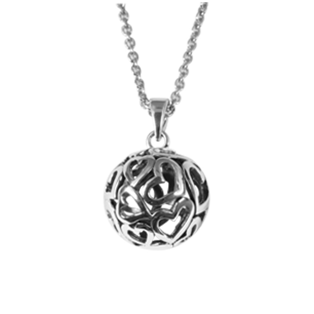 Ball of hearts pendant antika hung ball of hearts pendant mozeypictures Images