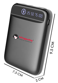 Vingajoy VB-10091 Mobile Power Bank | Built-in Dual Usb Port
