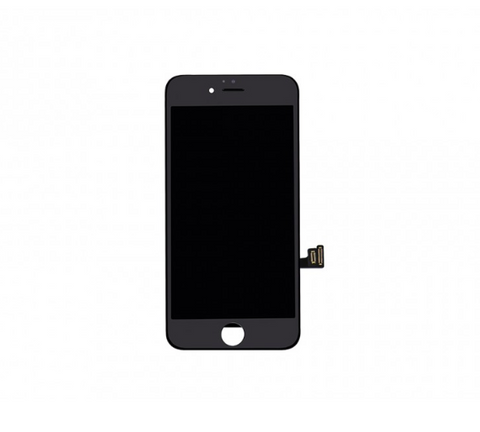"LCD & Digitizer Frame Assembly with Plate for iPhone 7 (4.7"") - Black"