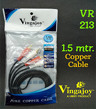 Vingajoy VR-213 / 2RCA AUDIO CABLE