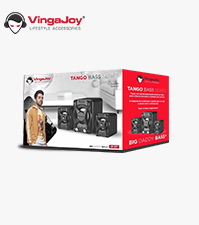 Vingajoy CP-017 | Computer Speaker With Light Emitting effect