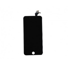LCD & Digitizer Frame Assembly with Plate for iPhone 6s plus- Black