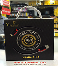 Vingajoy VR-48 IPH5 USB Data Cable