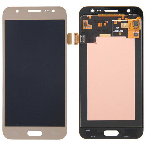 LCD with Touch Screen for Samsung Galaxy J5 16GB - Gold (display glass combo folder)
