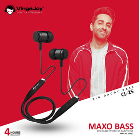 Vingajoy CL 25 Maxo Bass Wireless Earphones