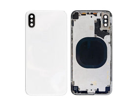 For Apple iPhone XS Black Battery Door