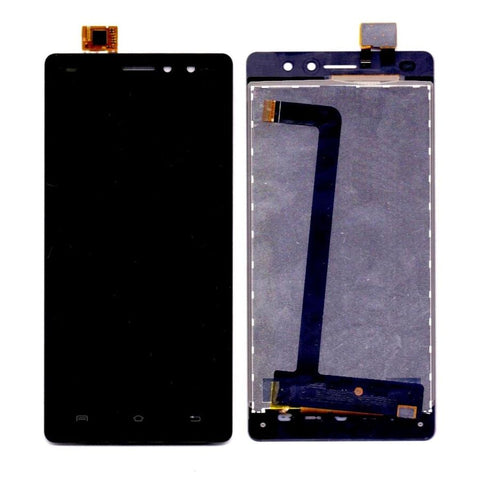 LCD with Touch Screen for Xolo Era 4G - Black (display glass combo folder)