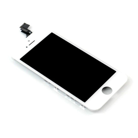LCD with Touch Screen for Apple iPhone 5C 8GB - White (display glass combo folder)