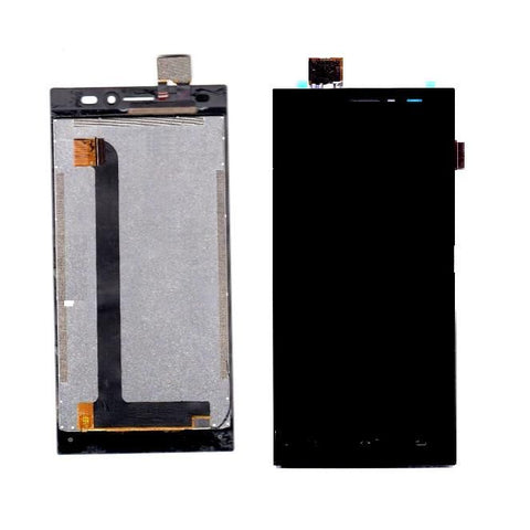 LCD with Touch Screen for Xolo Era X - Black (display glass combo folder)