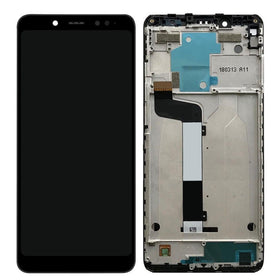 LCD with Touch Screen for Xiaomi Redmi Note 5 Pro - Black (display glass combo folder)