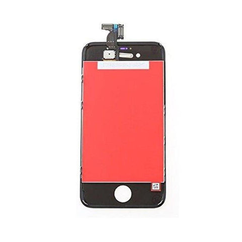 LCD with Touch Screen for Apple iPhone 4s - Black (display glass combo folder)