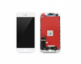 "LCD & Digitizer Frame Assembly with Plate for iPhone 7 (4.7"") - White"
