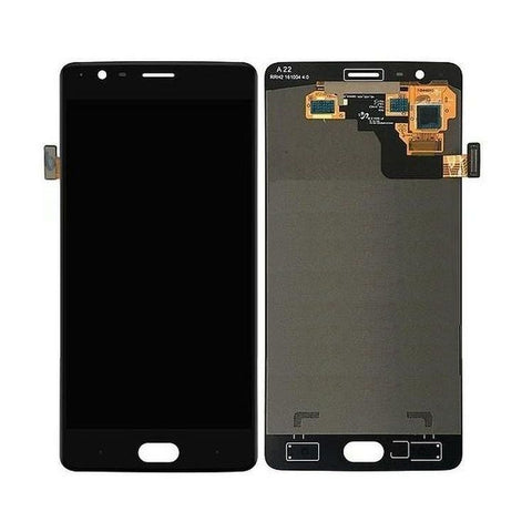 LCD with Touch Screen for OnePlus 3T - Gunmetal (display glass combo folder)