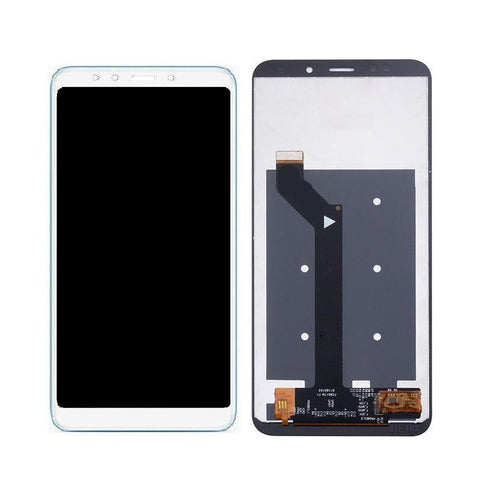 LCD with Touch Screen for Xiaomi Redmi 5 - White (display glass combo folder)