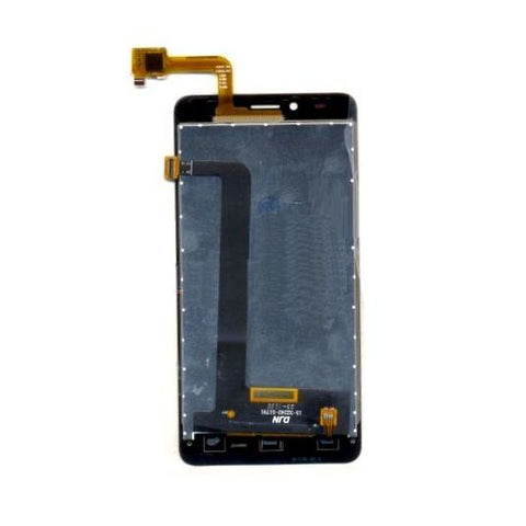 LCD with Touch Screen for Panasonic T45 4G - Black (display glass combo folder)