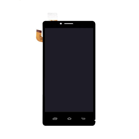 LCD with Touch Screen for Intex Aqua Star HD - Black (display glass combo folder)