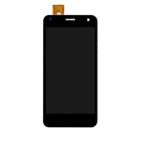 LCD with Touch Screen for Lava Iris X1 - Black (display glass combo folder)