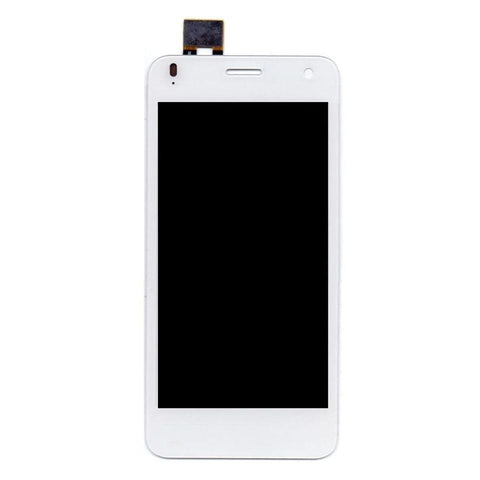 LCD with Touch Screen for Lava Iris X1 - White (display glass combo folder)