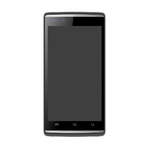 LCD with Touch Screen for Micromax Canvas Fire 4G Q411 - Black