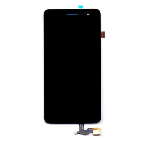 LCD with Touch Screen for Lava Iris Fuel F1 - Black (display glass combo folder)
