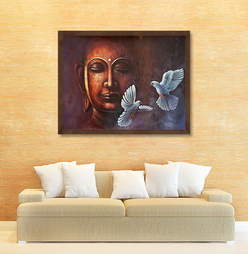 Indian Spiritual Art | Print on Canvas | ArtCollective Page 4 ...