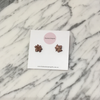 Mini Maple Leaf Earrings