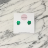 Mini Monstera Leaf Earring Studs