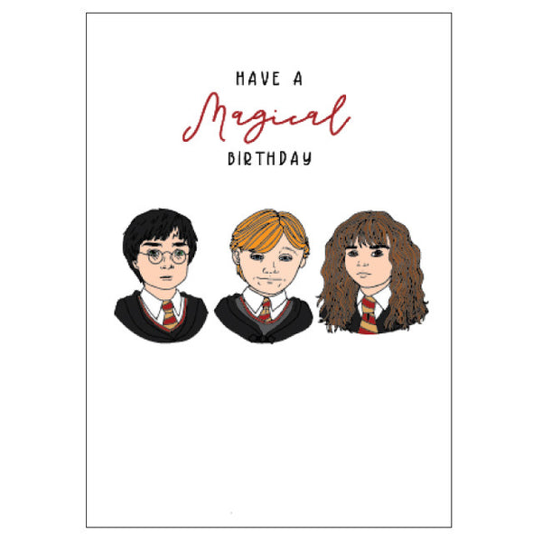 Wizarding Birthday Card